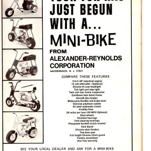 July/august 1969 advertisment