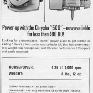 Power Products 500