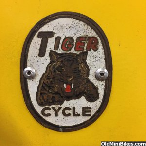 Tiger Cycle Badge
