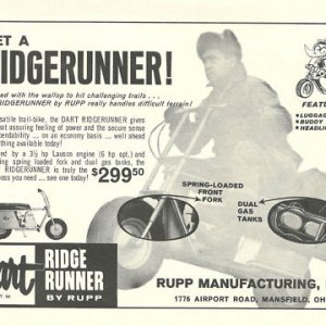 Rupp Ridge Runner Brochure