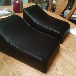 Trail horse seat