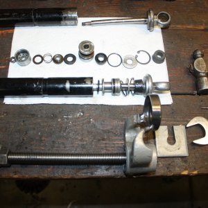 Ceriani Shock Disassembly