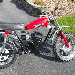 1973 Speedway Red Baron