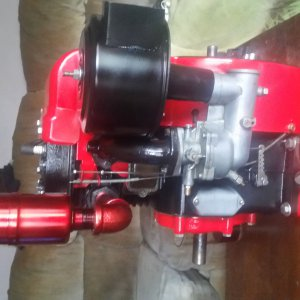 Vintage cast iron briggs and stratton motors