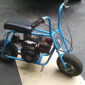 Lil Indian mini bike