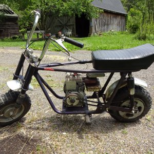 1971-1972 Steens Taco - Super Trail 100 (Model ST100) Mini Bike (Picture #1)
