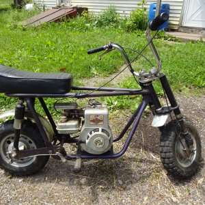 1971-1972 Steens Taco - Super Trail 100 (Model ST100) Mini Bike Picture #2