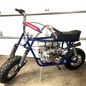 Doug's Taco Mini Bike Build 2017-2020