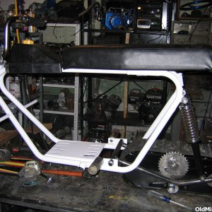 minibike snowmobile project