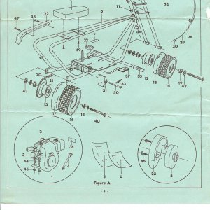 1968 Wren parts diagram