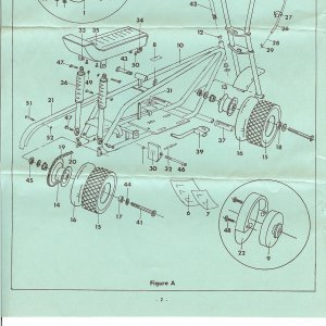 1968 Duck parts diagram