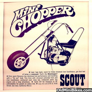 Bonanza Scout Chopper Advertisement