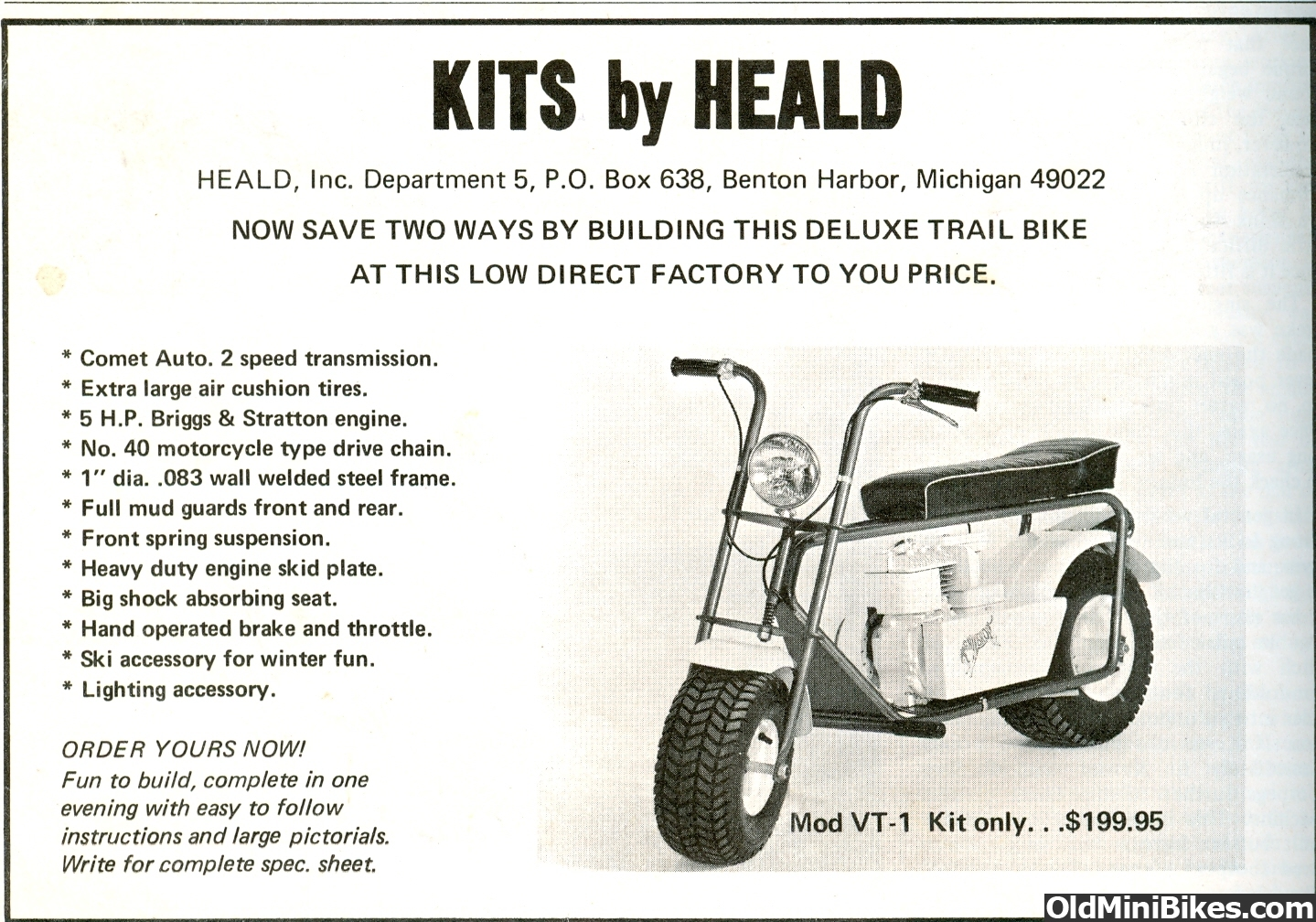 Is The Heald Vt 1 Same As A Heathkit