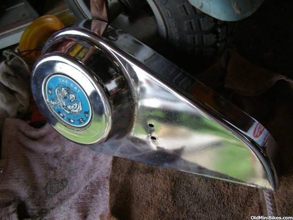 Cat Eliminator Mini Bike Seat : Cat mini bikes page