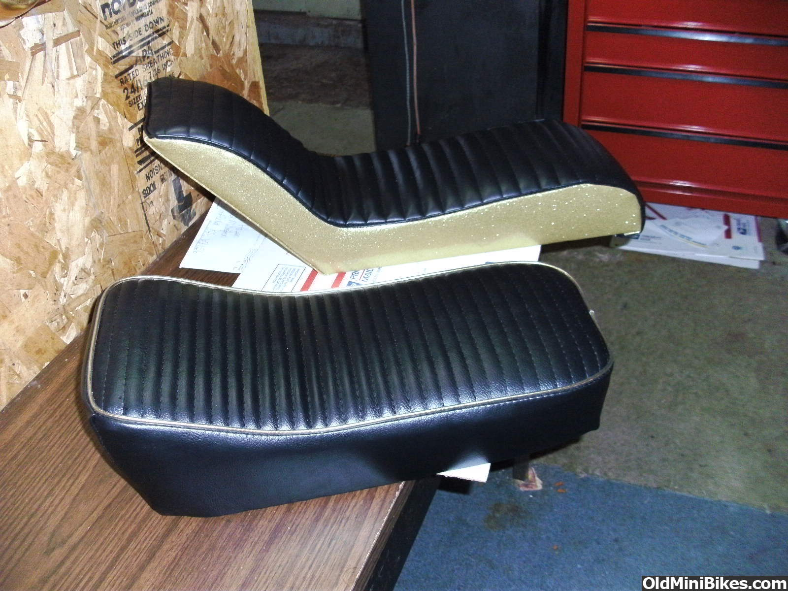 Cat Eliminator Mini Bike Seat : If you have one of my seats post a pic page