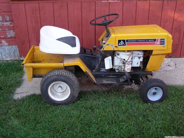 Bonanza Tractor For Sale For The Minibike Guy Who Has