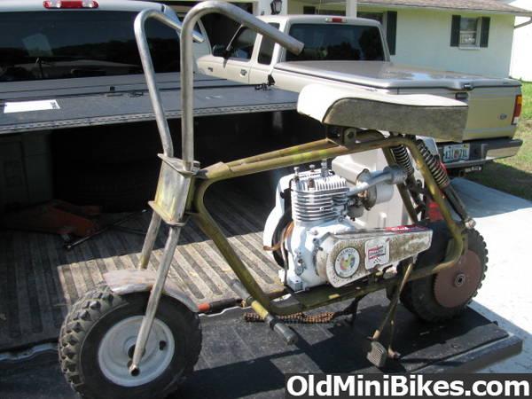 Mini Bike Seat Shocks : Seat suspension page
