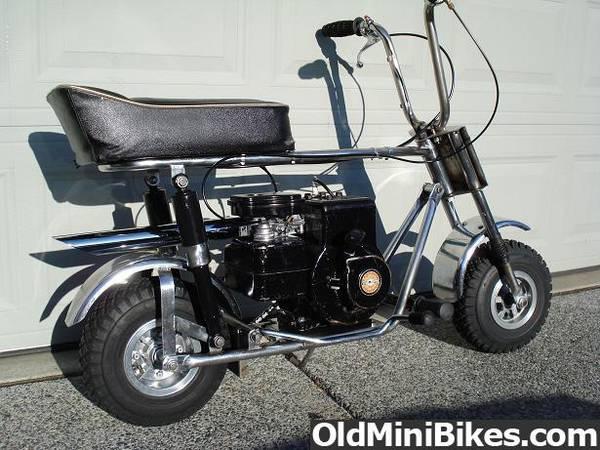 Vintage Mini Bike Magazine Ads And Brochures