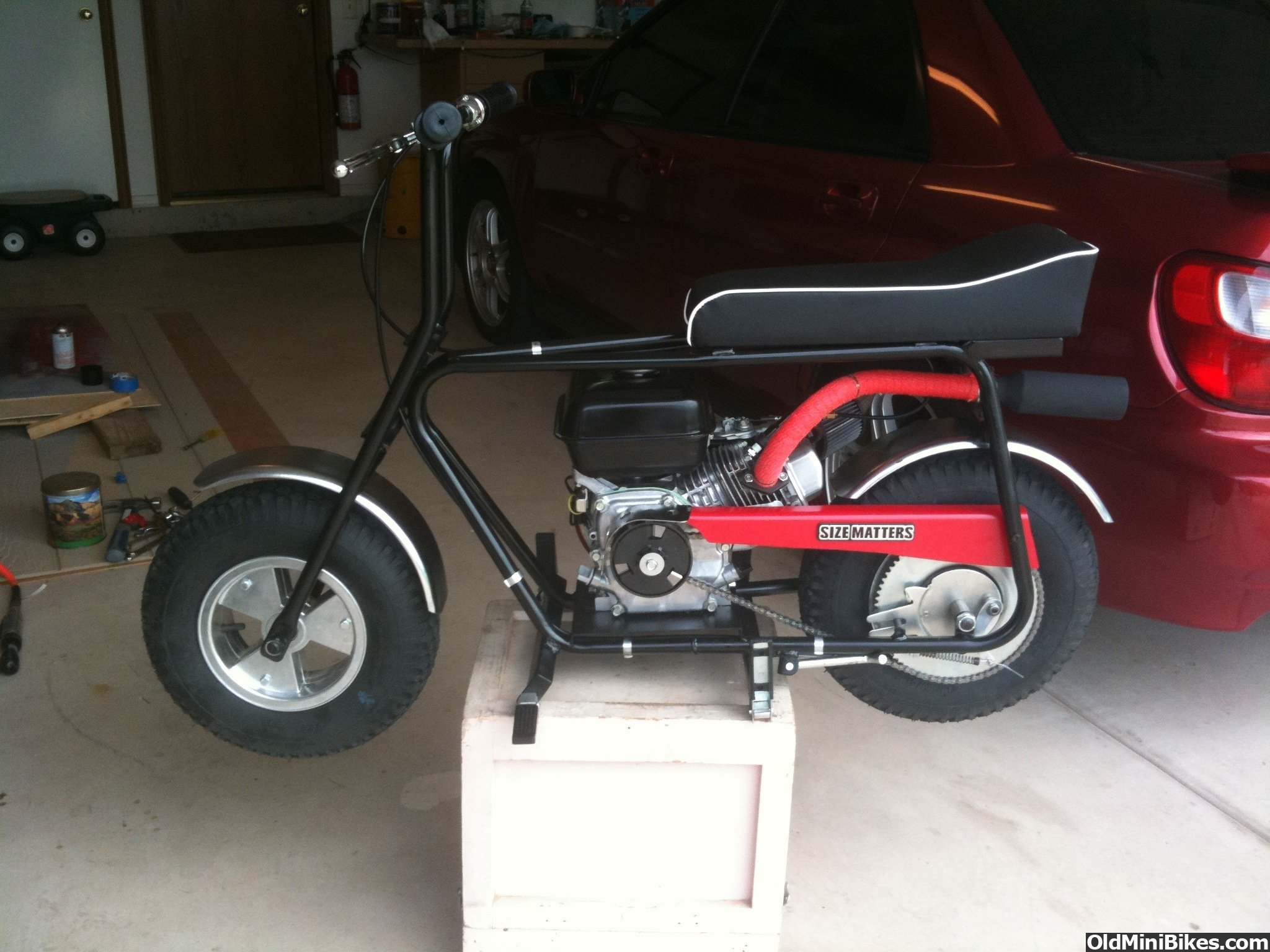 Honda Grand Rapids >> First Project using a Azusa frame and a Honda GX160 - Page 2