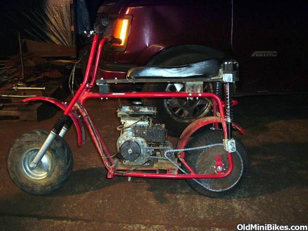 Mini Bike Seat Shocks : Front shocks for the db