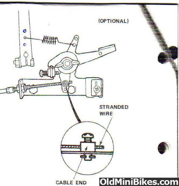 adjusting the governor speed rh oldminibikes com Doodlebug Mini Bike Engine Baja 97Cc Engine Parts
