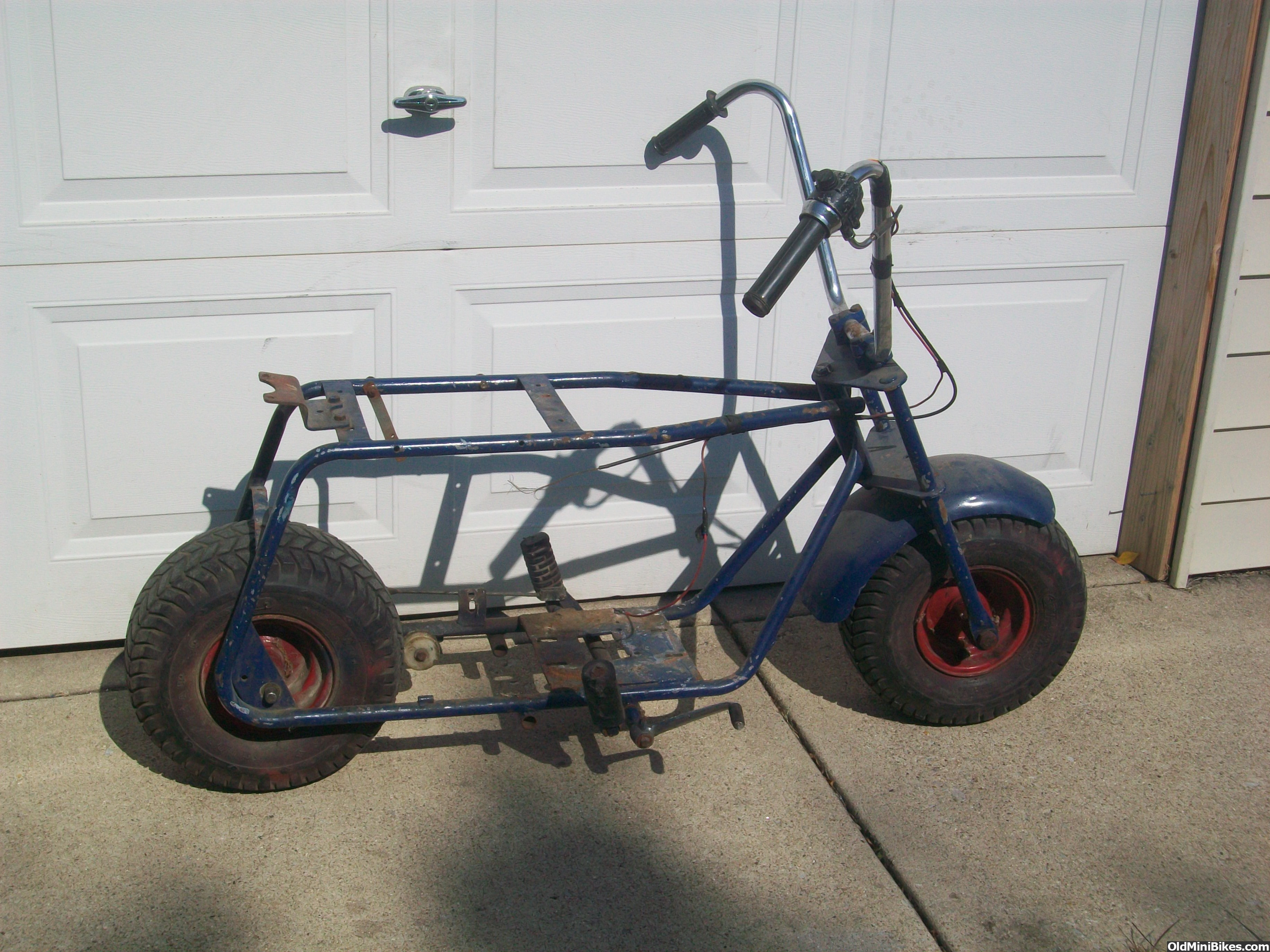 Pack Mule Mini Bike : Harrison wildcat roller will ship