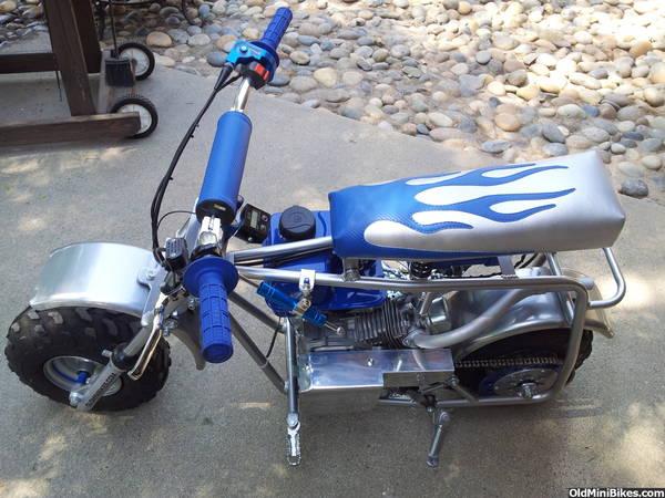 Mini Bike Shocks : Seat suspension on a coleman u