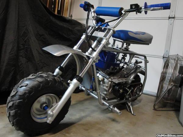 Mini Bike Seat Shocks : Seat suspension on a coleman u