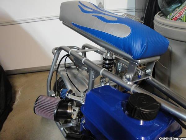 Baja Mini Bike Seat : Seat suspension on a coleman u