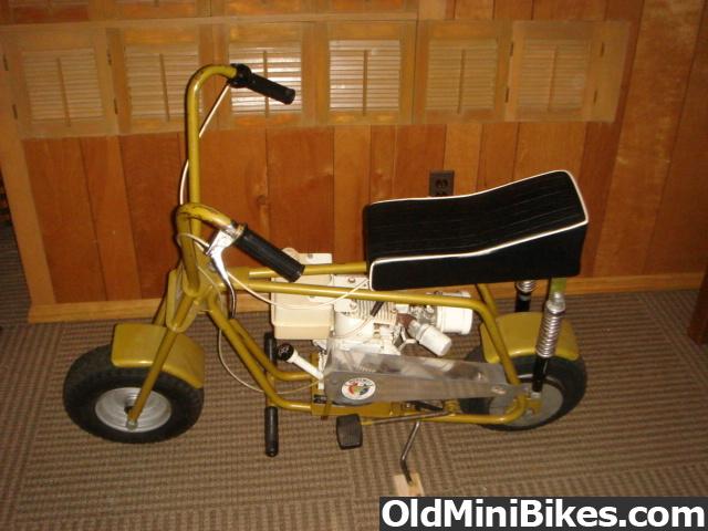Mini Bike Seat Shocks : All original bird engineering foremost golden pinto