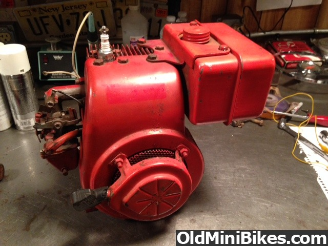 Vintage 1960 39 s lauson 3 1 2 hp engine early tecumseh rupp dart cycle