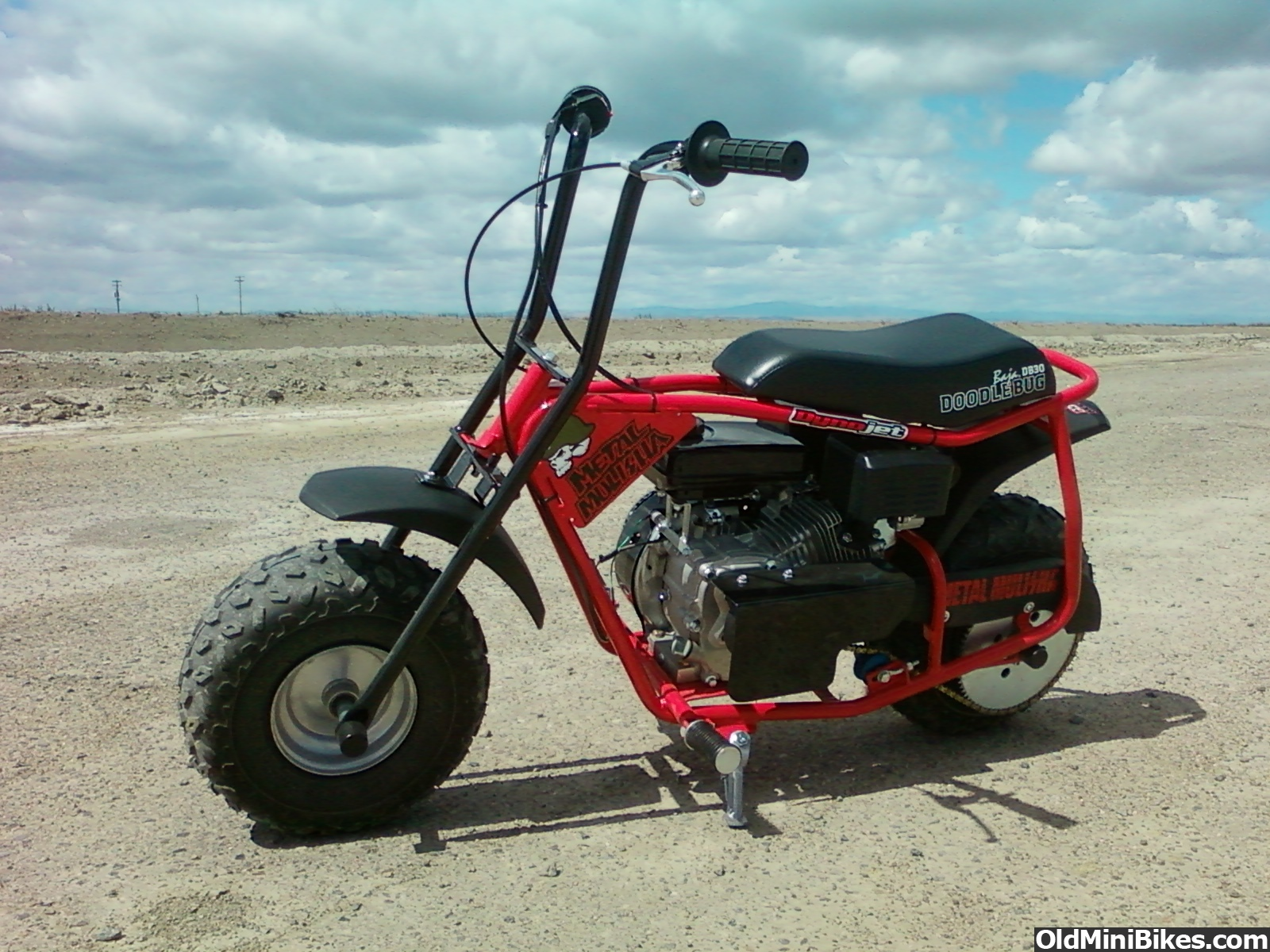 Doodlebug Mini Bike Engine Swap - #GolfClub