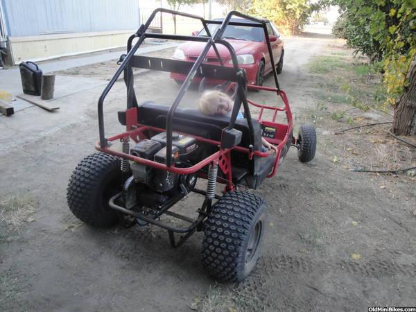 Manco Dingo 2 seater 8 Hp parts Breakdown