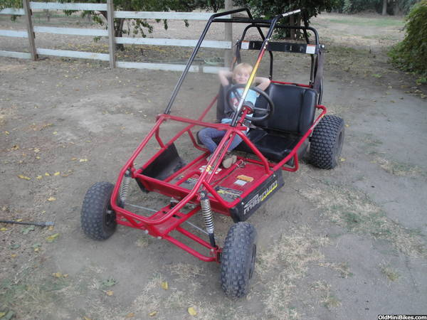 New to me Manco 606 scorpion magnum! | OldMiniBikes.com Manco Scorpion Go Kart Wiring Diagram on