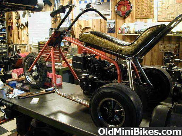 "Mini Bike Seat Shocks : The ""rare cat twister trike page"