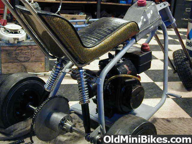 "Cat Eliminator Mini Bike Seat : The ""rare cat twister trike page"