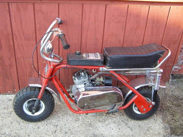 Mtd Mini Bike : Mtd trail flite page