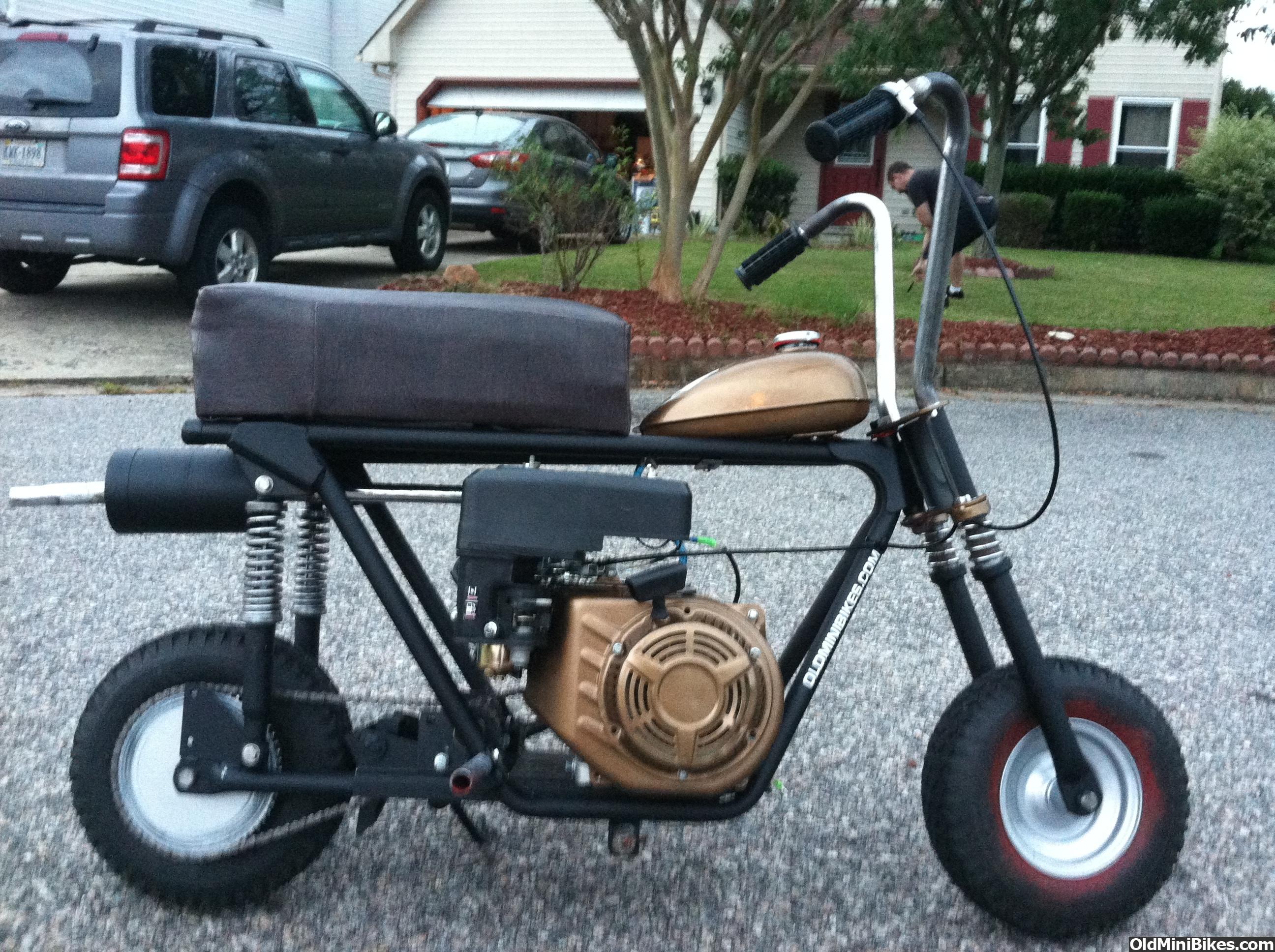 Mini Bike Shocks : Full suspension minis page