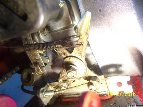 Baja Doodle bug 97cc carb/governor problem | OldMiniBikes com