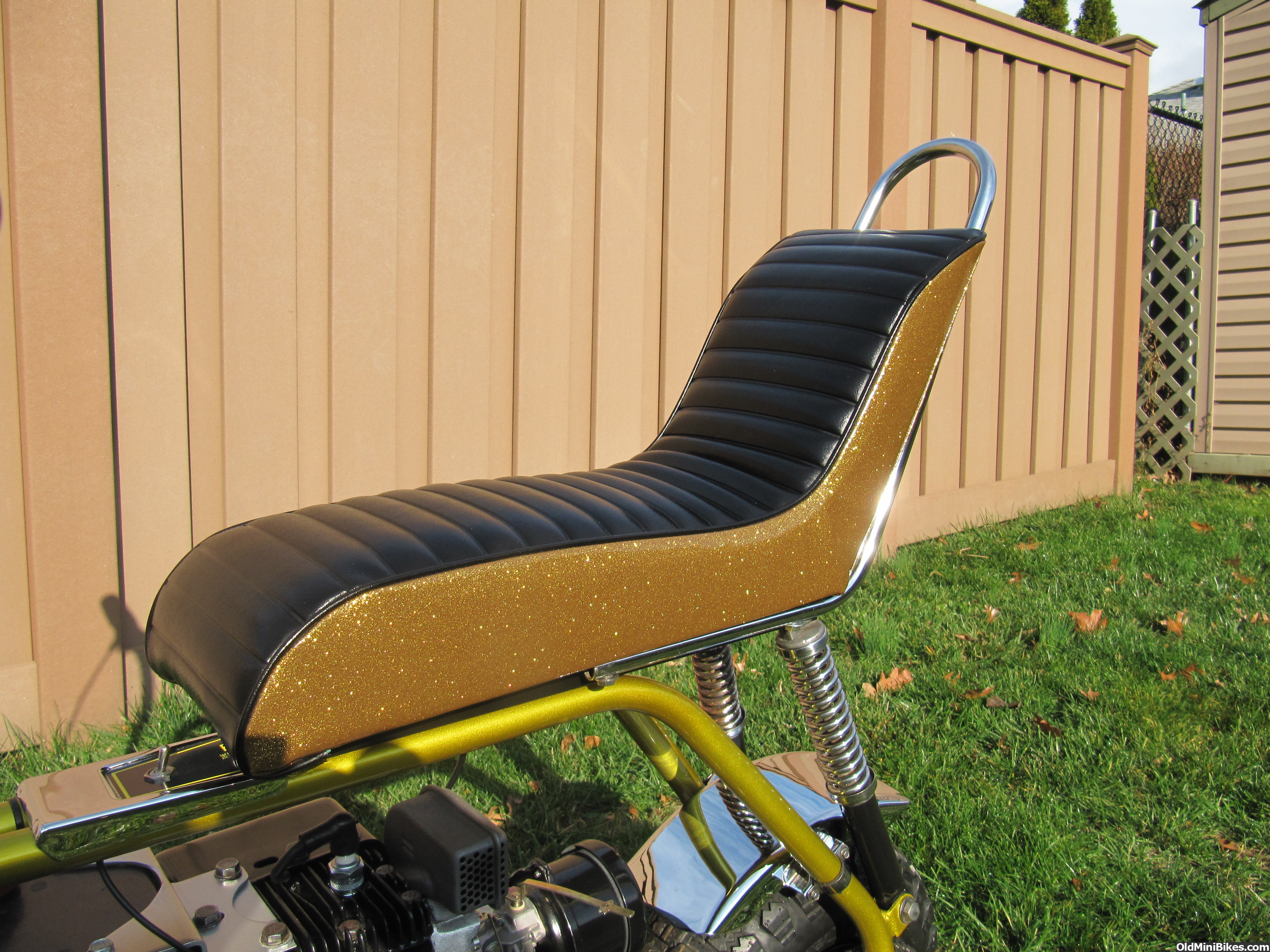 Cat Eliminator Mini Bike Seat : Manchester seats if you have one post a pic here page
