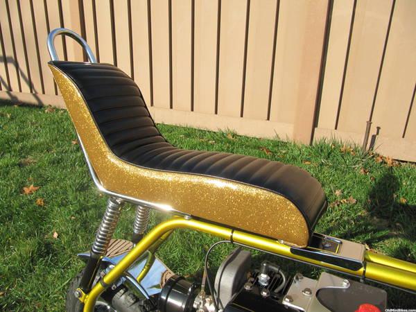Cat Eliminator Mini Bike Seat : Cat dominator eliminator nos seat