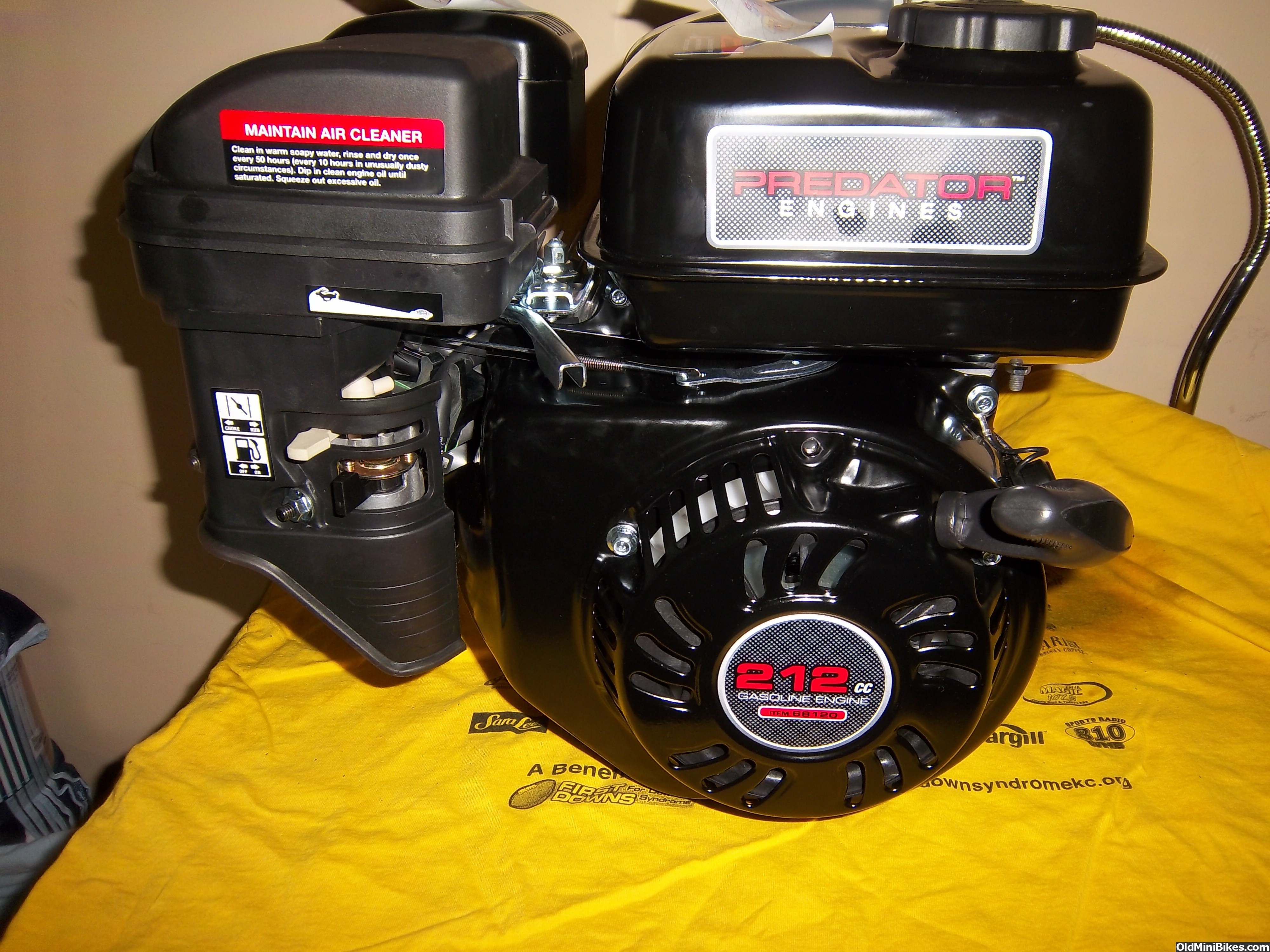 Harbor Freight Predator 212 Engine