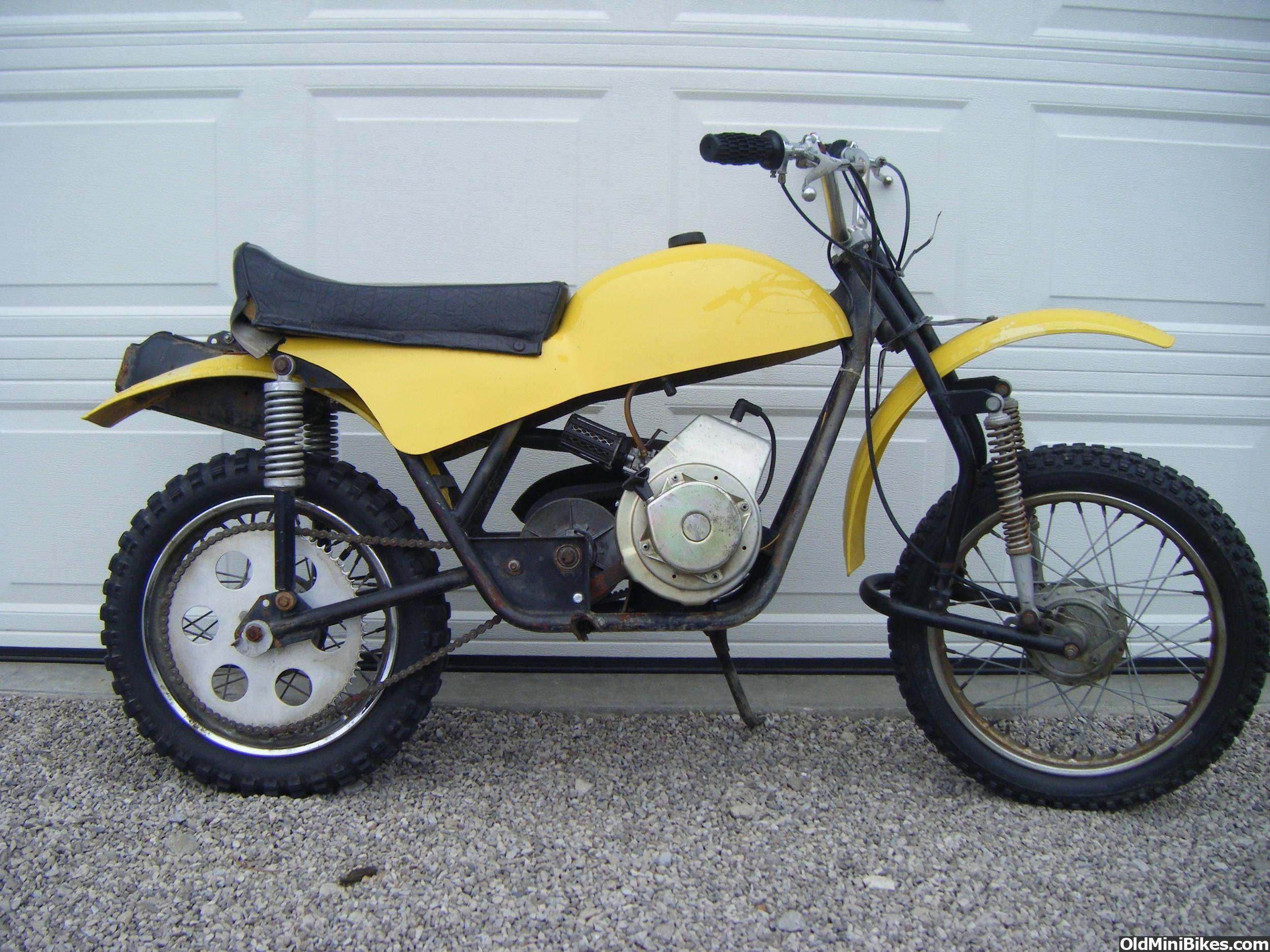 Mtd Mini Bike : I have a mtd mini cycle page
