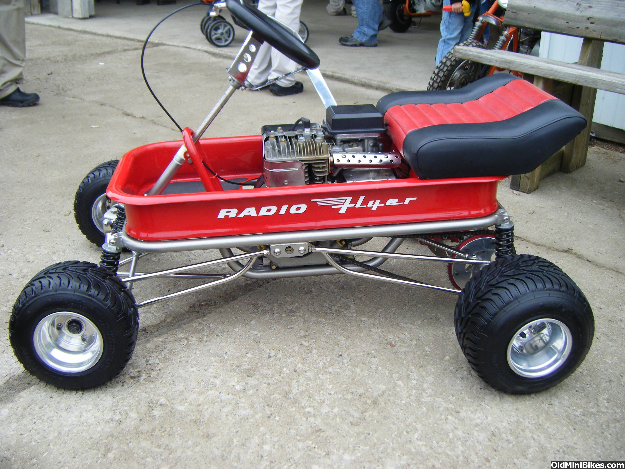 Radio flyer hot rod wagon page 2 for Motorized wagon for sale