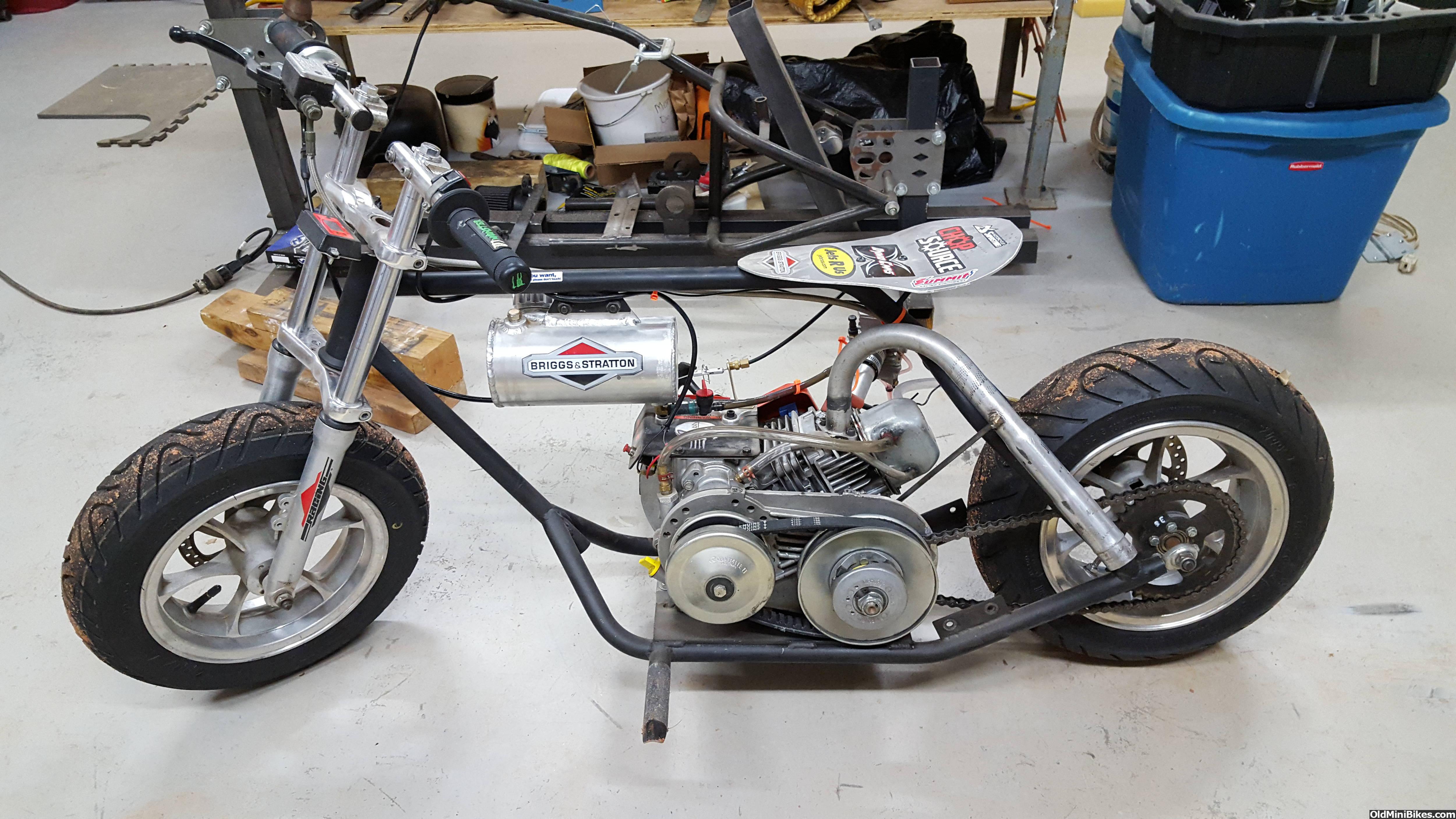 Custom Made Drag Mini Bike Fs