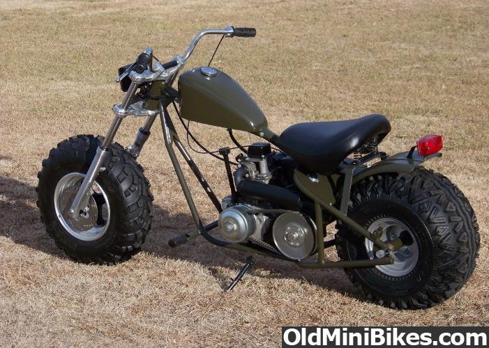 Как сделать мини мотоцикл своими руками