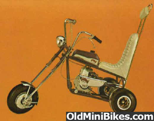 3 Wheel Mini Bike : Broncco trike