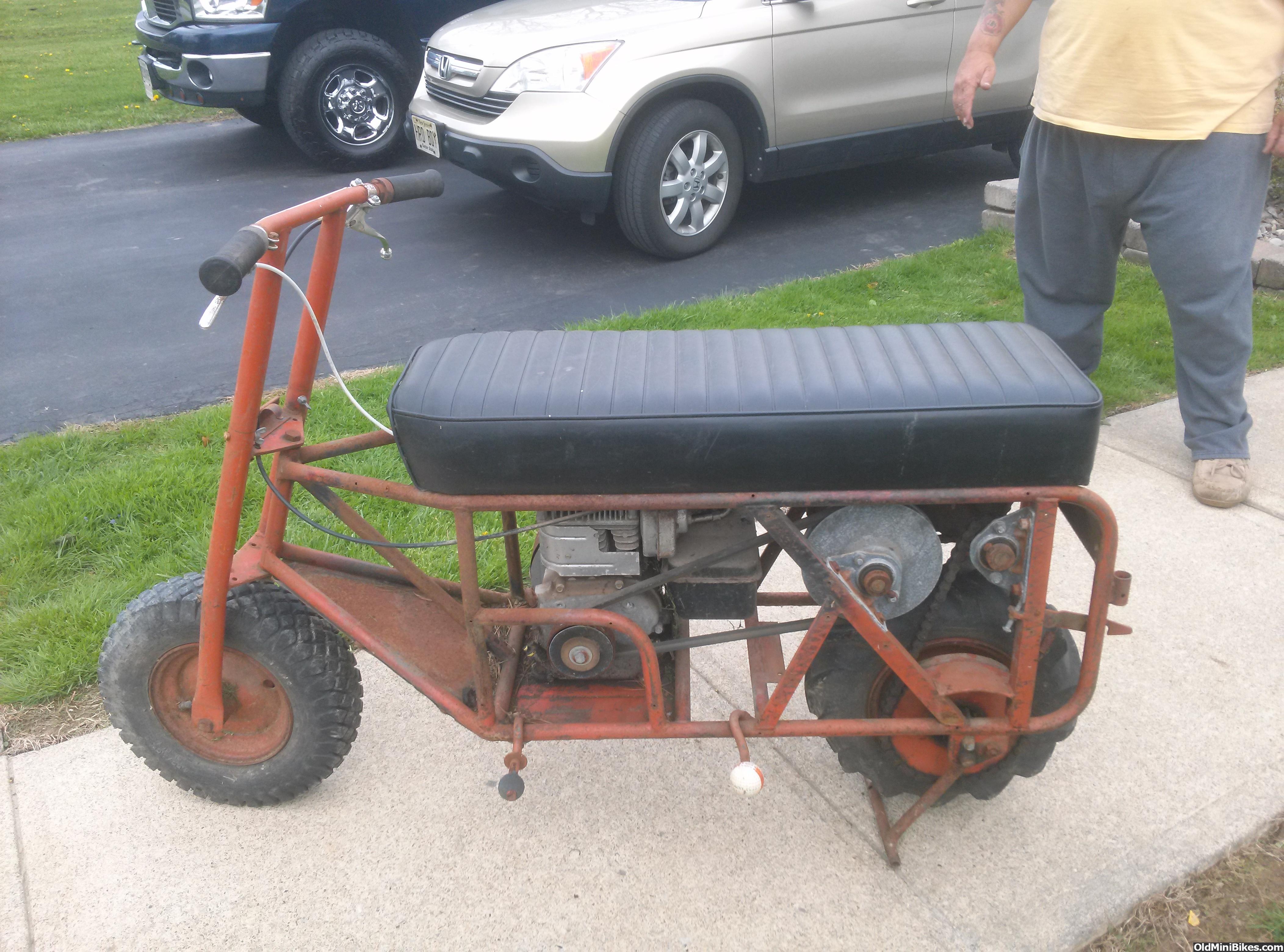 Pack Mule Mini Bike : Tote gote