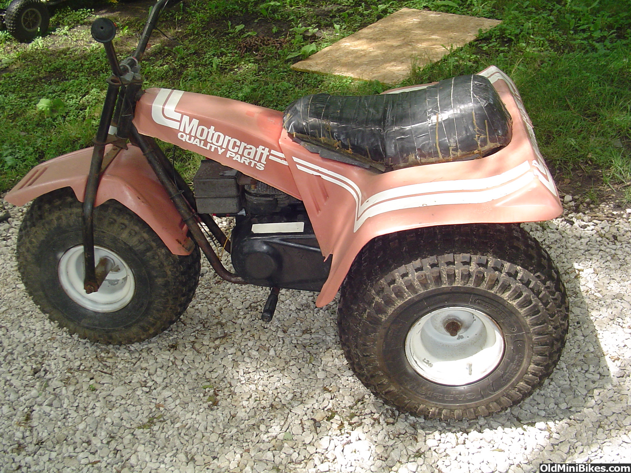 3 Wheel Mini Bike : Bought a wheeler today what is it