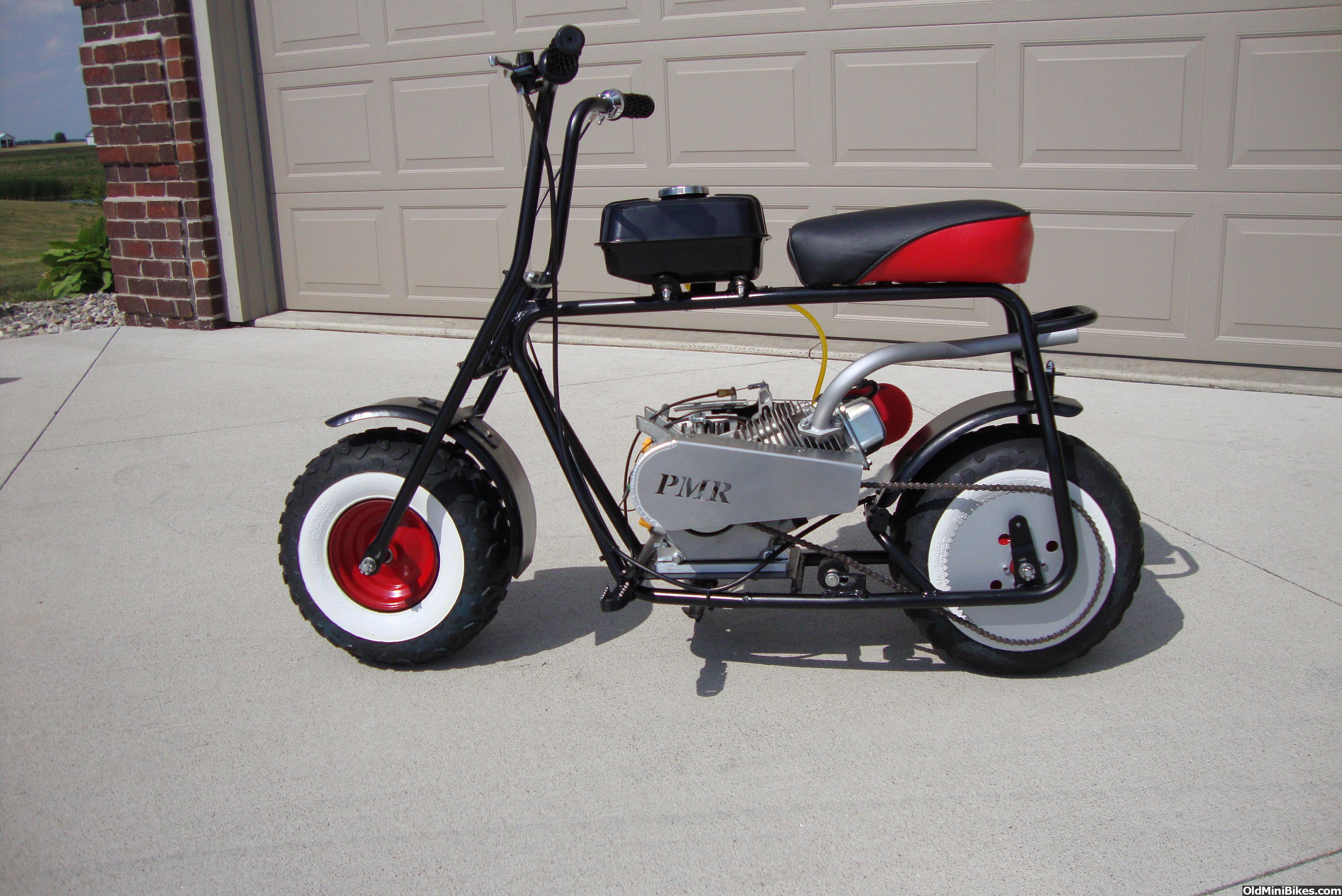 Vintage mini bike test